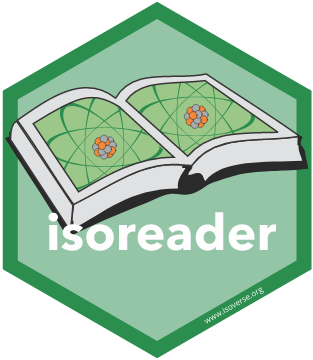 isoreader hex sticker