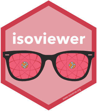 isoviewer hex sticker